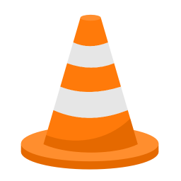 256x256px size png icon of Media vlc