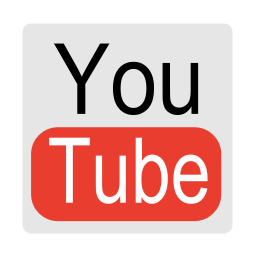 256x256px size png icon of Media youtube