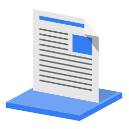 256x256px size png icon of System library documents