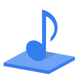 256x256px size png icon of System library music