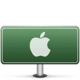 256x256px size png icon of Apple Sign