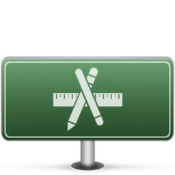 256x256px size png icon of Applications Sign