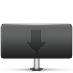 256x256px size png icon of Downloads