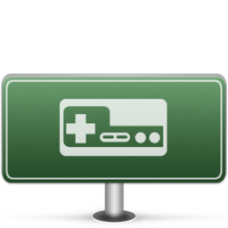 256x256px size png icon of Games Sign