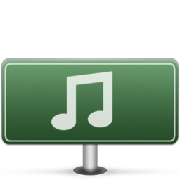 256x256px size png icon of Music Sign