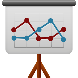 256x256px size png icon of presentation