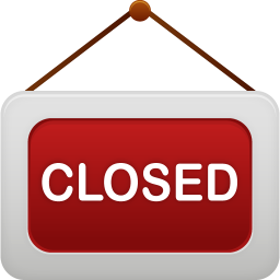 256x256px size png icon of shop closed