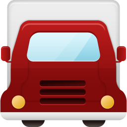 256x256px size png icon of truck