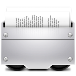 256x256px size png icon of 1 Documents