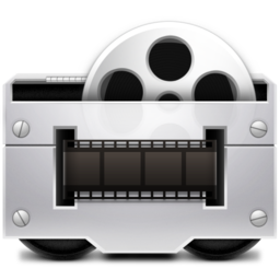 256x256px size png icon of 1 Movies