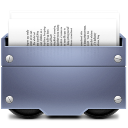256x256px size png icon of 2 Documents