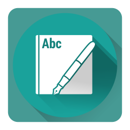 256x256px size png icon of iBookAuthor