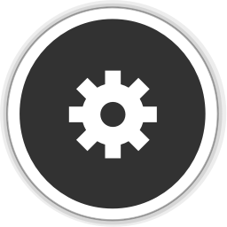 256x256px size png icon of application default