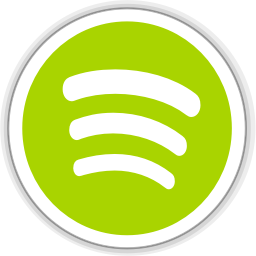 256x256px size png icon of spotify client
