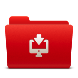 256x256px size png icon of Folder Downloads
