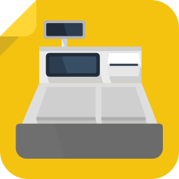 256x256px size png icon of cashier