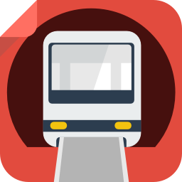 256x256px size png icon of train