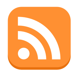 256x256px size png icon of Communication RSS