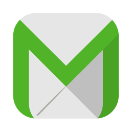 256x256px size png icon of Communication email
