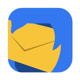 256x256px size png icon of Communication thunderbird