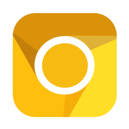 256x256px size png icon of Internet canary
