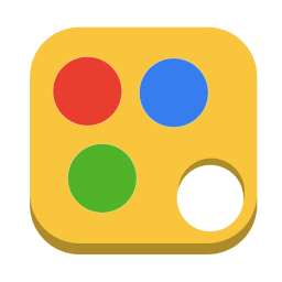 256x256px size png icon of Media paint