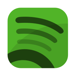 256x256px size png icon of Media spotify