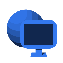 256x256px size png icon of System network