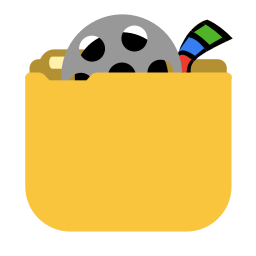 256x256px size png icon of System videos