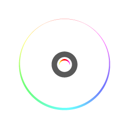 256x256px size png icon of CD
