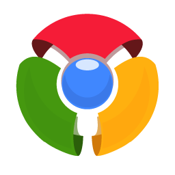 256x256px size png icon of Chrome Old