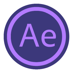 256x256px size png icon of App Adobe After Effect