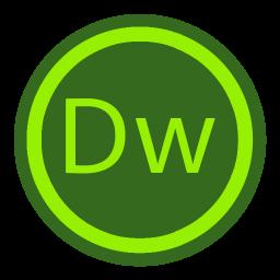 256x256px size png icon of App Adobe Dreamweaver