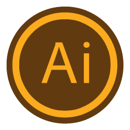 256x256px size png icon of App Adobe Illustrator