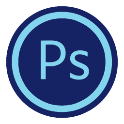 256x256px size png icon of App Adobe Photoshop