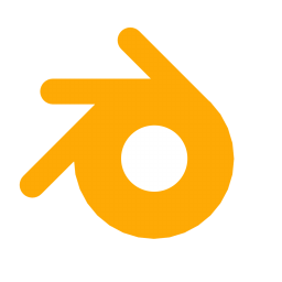 256x256px size png icon of App Blender