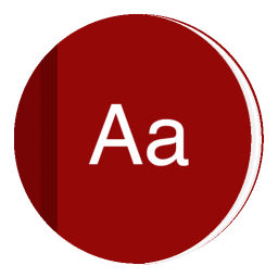256x256px size png icon of App Dictionary