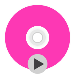 256x256px size png icon of App Dvdplayer