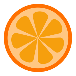 256x256px size png icon of App Orange Player