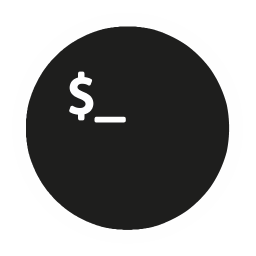 256x256px size png icon of App Terminal