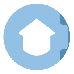 256x256px size png icon of Folder Home
