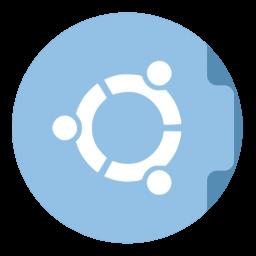 256x256px size png icon of Folder Ubuntu