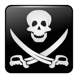 256x256px size png icon of pirate