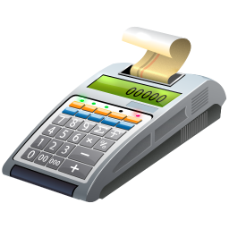256x256px size png icon of Cash register