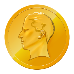 256x256px size png icon of Coin