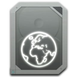 256x256px size png icon of drive idisk offline