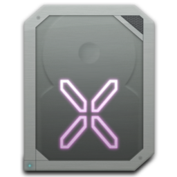 256x256px size png icon of drive internal osx