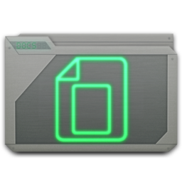 256x256px size png icon of folder docs