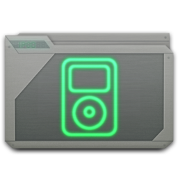 256x256px size png icon of folder ipod