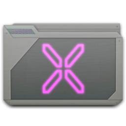 256x256px size png icon of folder system